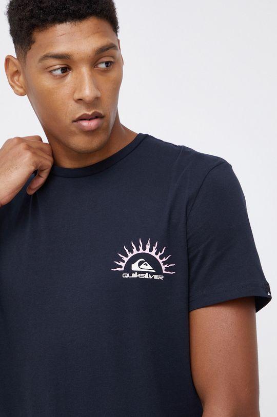 czarny Quiksilver - T-shirt bawełniany