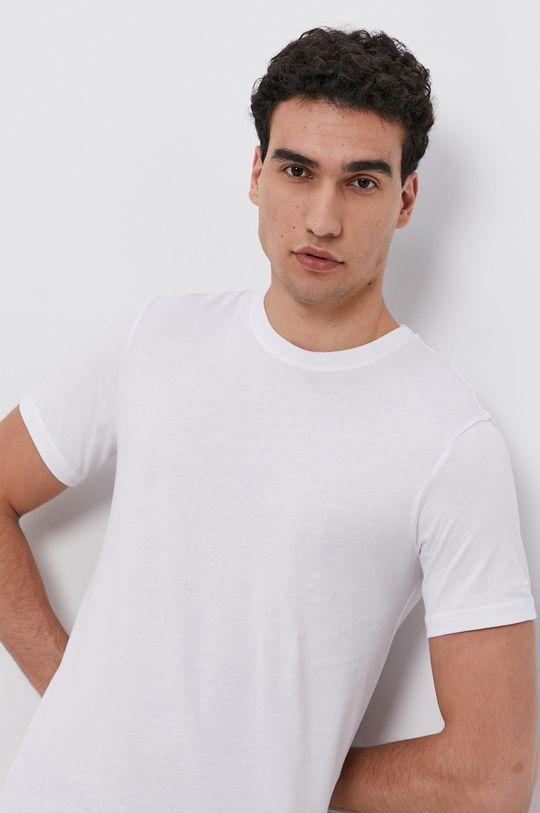 biały Karl Lagerfeld - T-shirt bawełniany (2-pack)