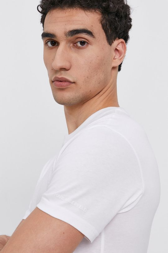Karl Lagerfeld - T-shirt bawełniany (2-pack) Męski