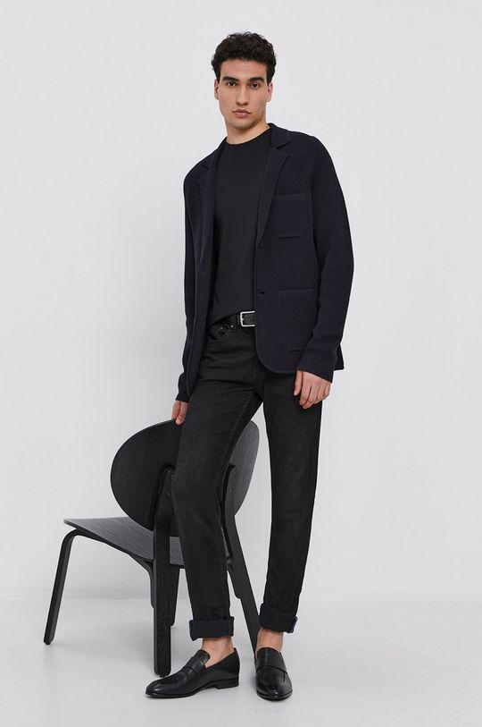 Karl Lagerfeld - Bavlněné tričko (2-pack) černá
