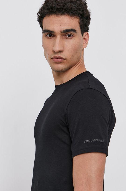 Karl Lagerfeld - Bavlněné tričko (2-pack) Pánský