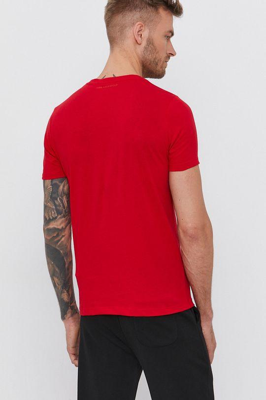 Karl Lagerfeld - Bavlnené tričko  100% Bavlna