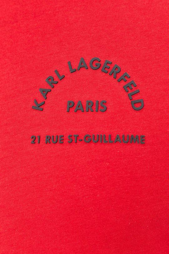 Karl Lagerfeld - Bavlnené tričko Pánsky