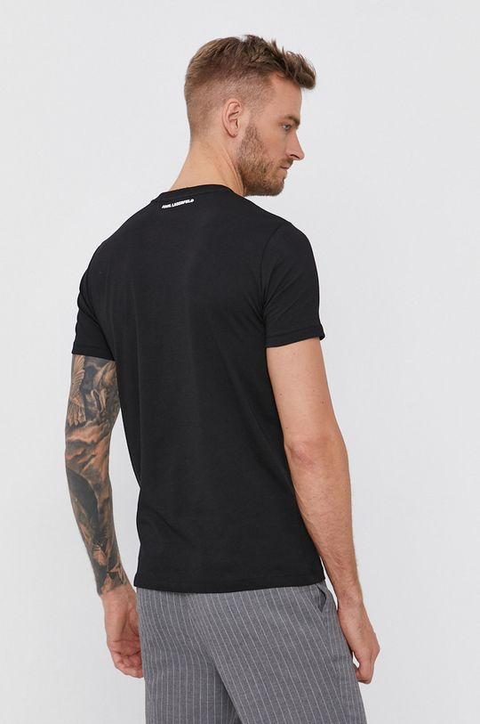Karl Lagerfeld - T-shirt bawełniany 100 % Bawełna