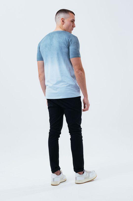 Hype - Bavlněné tričko BLUE DIP DYE  100% Bavlna