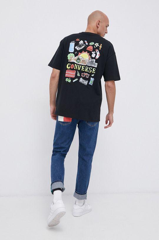 černá Converse - Bavlněné tričko Pánský