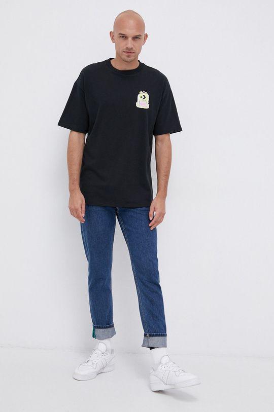 Converse - Bavlněné tričko  100% Bavlna