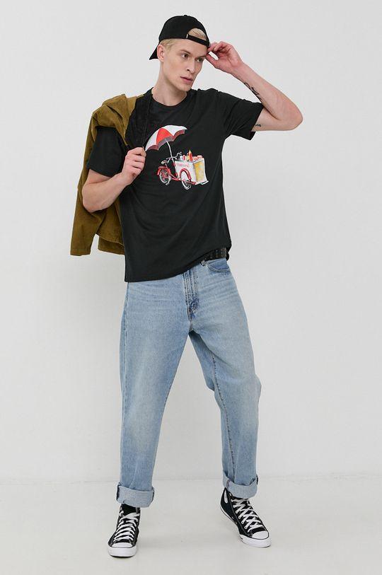 negru Converse - Tricou din bumbac