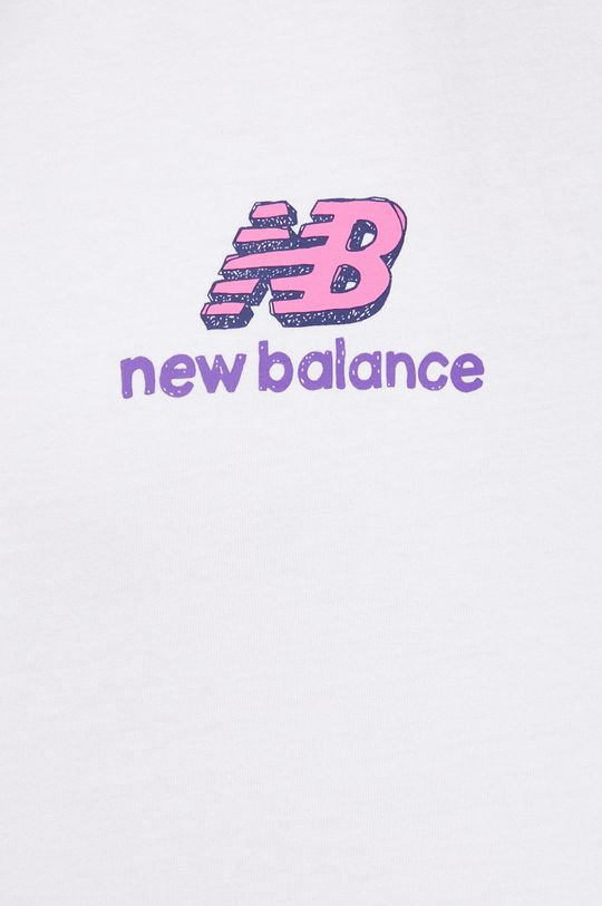 New Balance - Bavlněné tričko Pánský