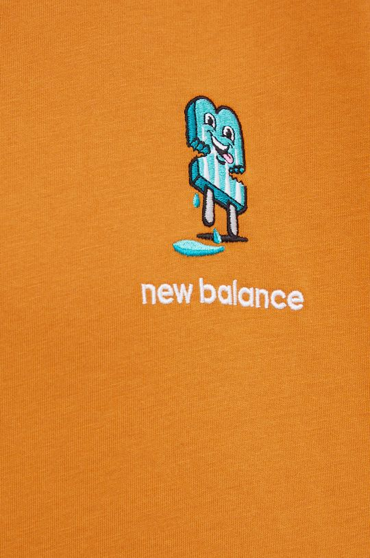New Balance - T-shirt bawełniany Męski