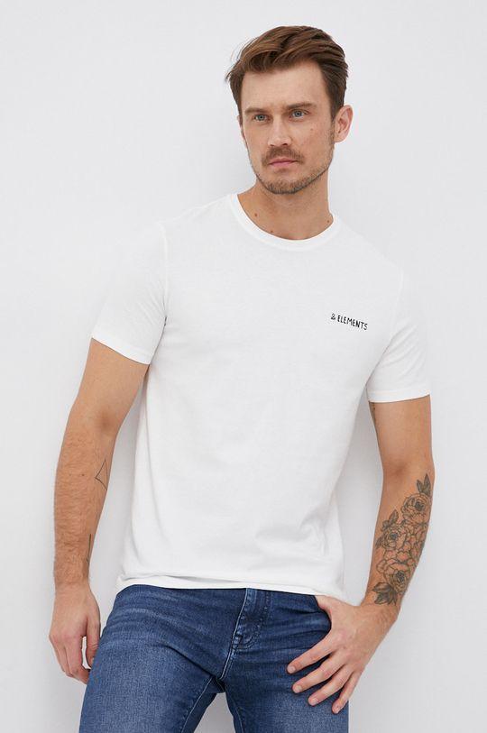 United Colors of Benetton - Bavlněné tričko bílá