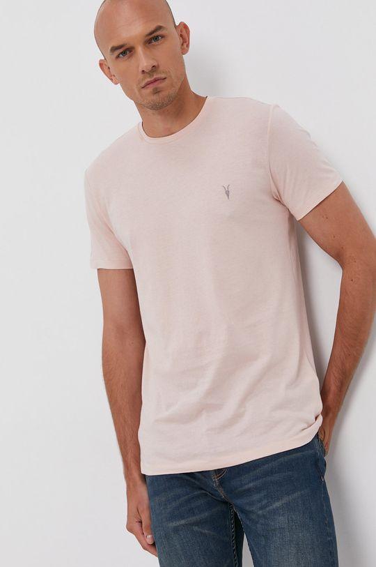 AllSaints - T-shirt bawełniany (3-pack) 100 % Bawełna