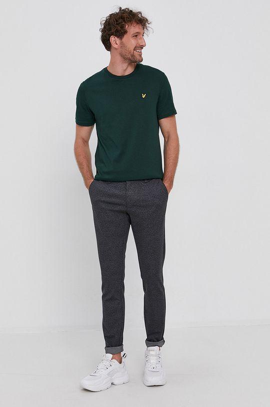 verde inchis Lyle & Scott - Tricou din bumbac De bărbați