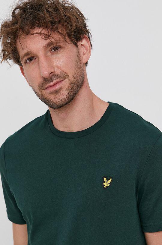 verde inchis Lyle & Scott - Tricou din bumbac