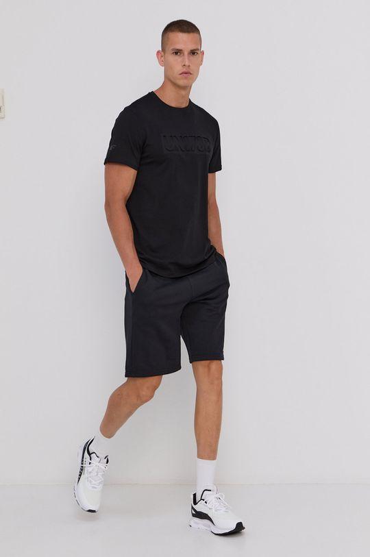 negru 4F - Tricou din bumbac De bărbați