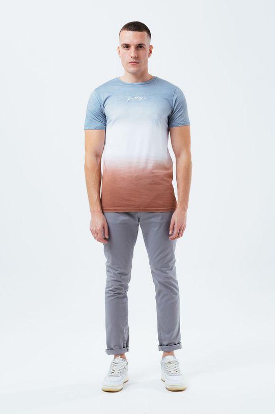 Hype - T-shirt bawełniany szary