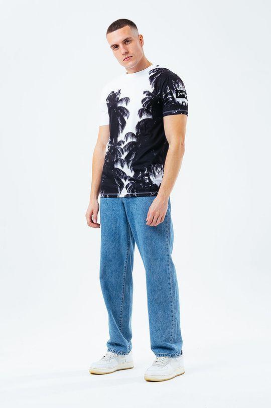 Hype - T-shirt bawełniany biały