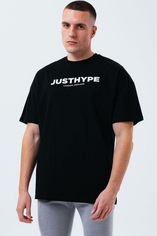 czarny Hype - T-shirt Męski
