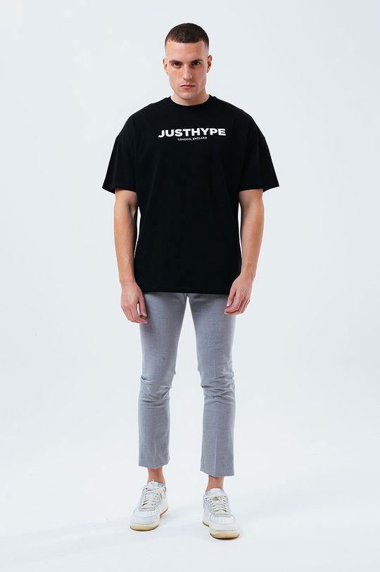 Hype - T-shirt czarny