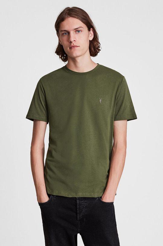 multicolor AllSaints - T-shirt bawełniany (3-pack) Męski