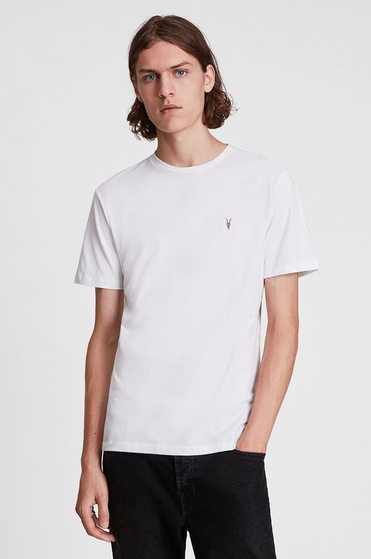 AllSaints - T-shirt bawełniany (3-pack) multicolor