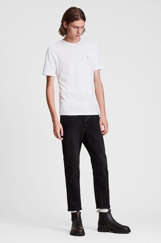 AllSaints - T-shirt bawełniany (3-pack) Męski