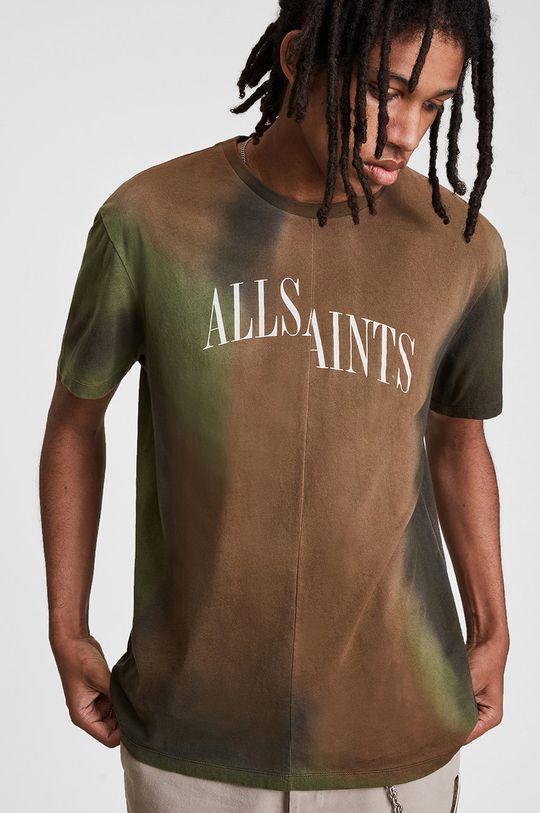 multicolor AllSaints - T-shirt bawełniany Męski