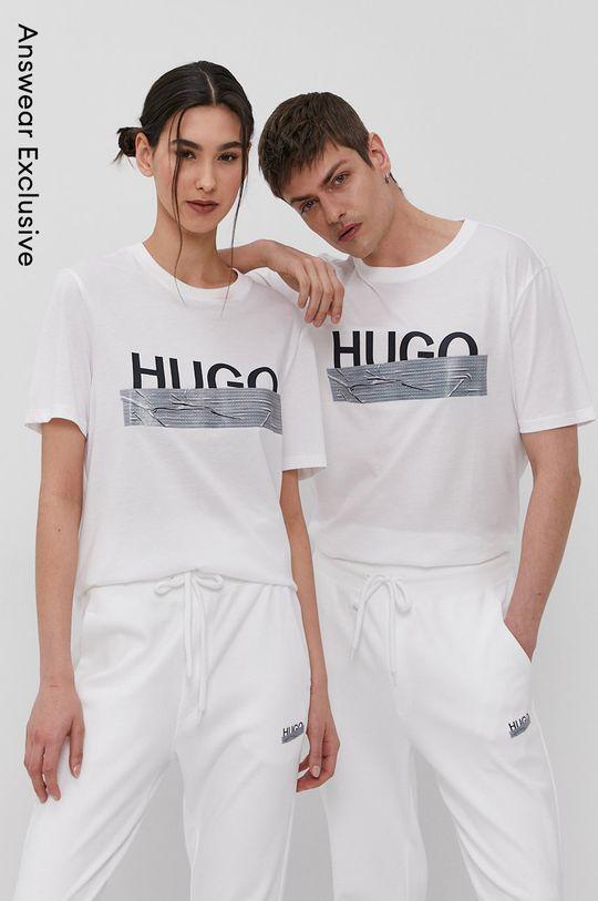 biela Hugo - Tričko z narodeninovej kolekcie Unisex
