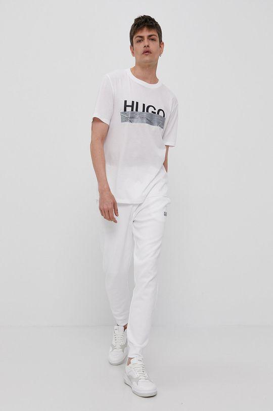 bílá Hugo - Tričko z narozeninové kolekce
