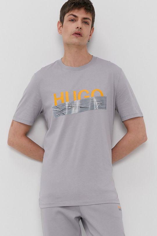 Hugo - T-shirt z kolekcji urodzinowej szary