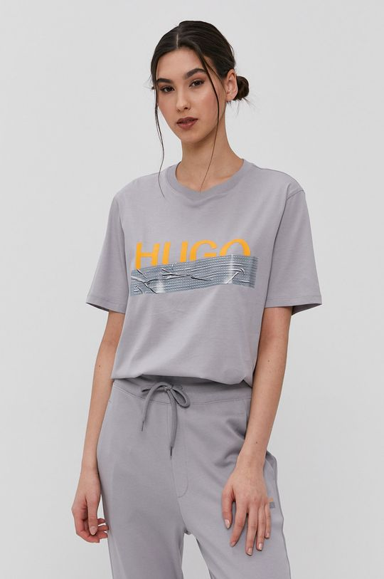 Hugo - T-shirt z kolekcji urodzinowej  100 % Bawełna