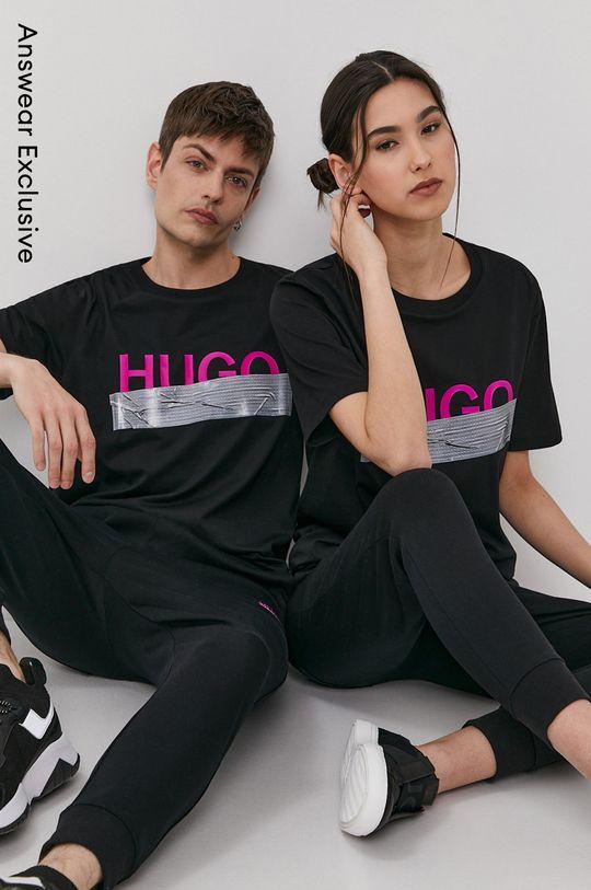 čierna Hugo - Tričko z narodeninovej kolekcie Unisex
