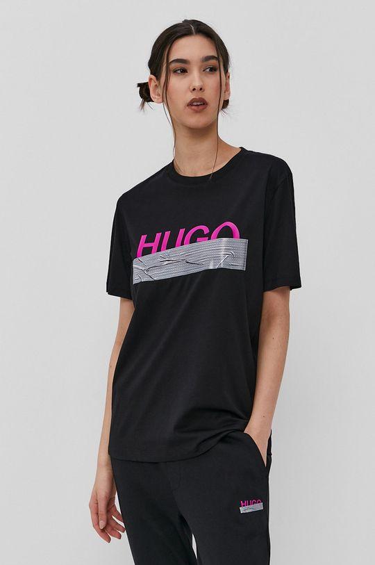 Hugo - Tričko z narodeninovej kolekcie čierna