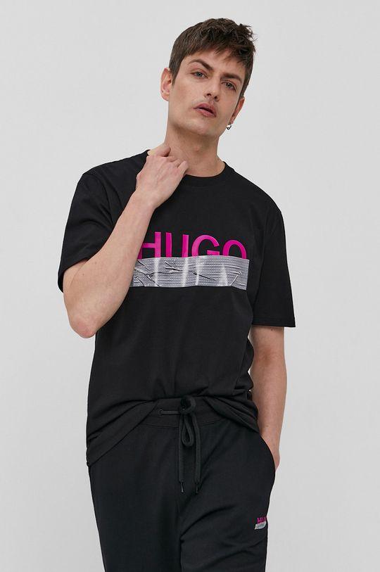Hugo - Tričko z narodeninovej kolekcie  100% Bavlna