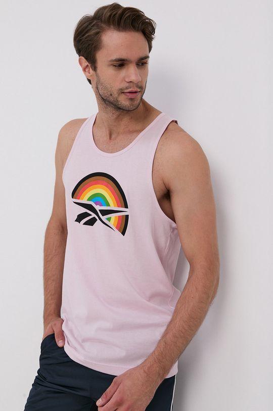 Reebok - Top pastelově růžová
