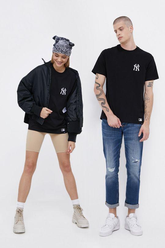 černá 47brand - Bavlněné tričko Unisex