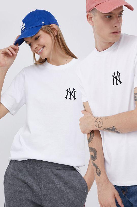 bílá 47brand - Bavlněné tričko Unisex
