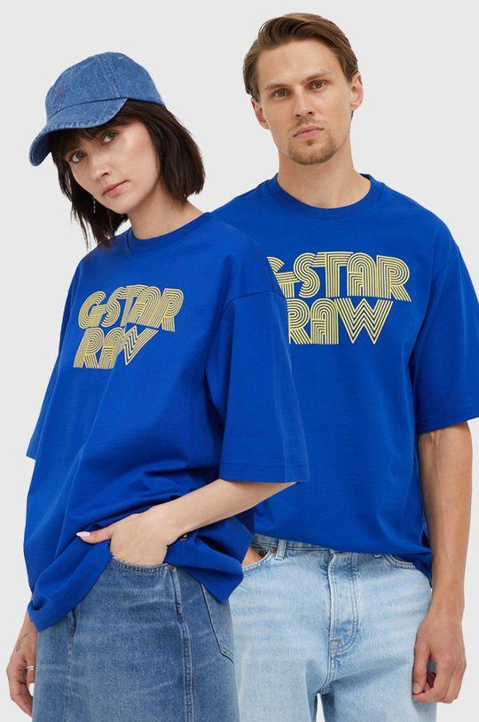 niebieski G-Star Raw - T-shirt bawełniany x Snoop Dogg Unisex