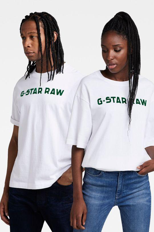 biały G-Star Raw - T-shirt bawełniany x Snoop Dogg Unisex