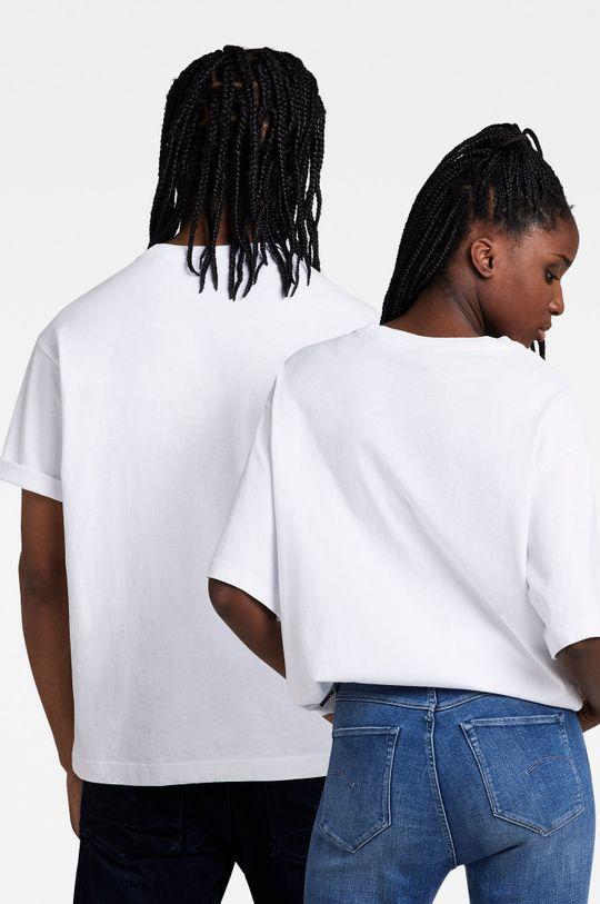 G-Star Raw - T-shirt bawełniany x Snoop Dogg biały
