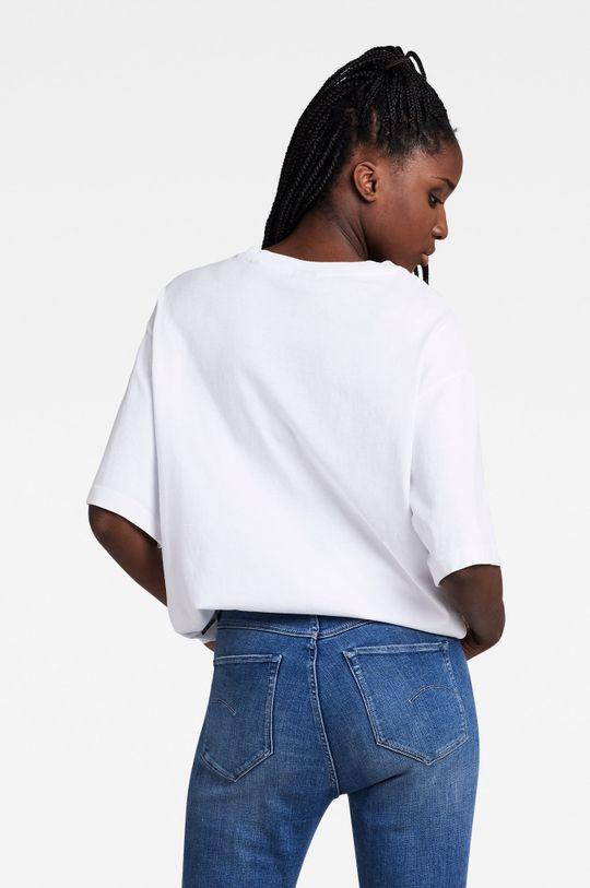 biały G-Star Raw - T-shirt bawełniany x Snoop Dogg