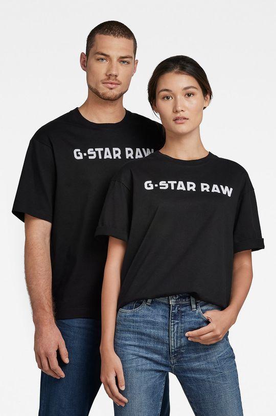 czarny G-Star Raw - T-shirt bawełniany x Snoop Dogg Unisex