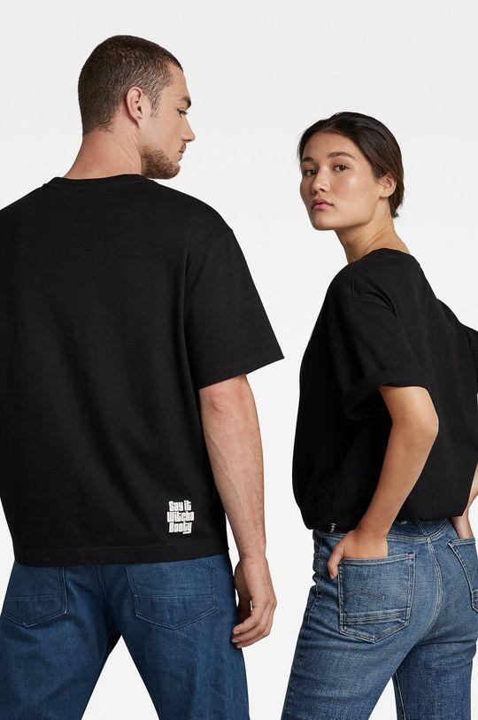G-Star Raw - T-shirt bawełniany x Snoop Dogg czarny