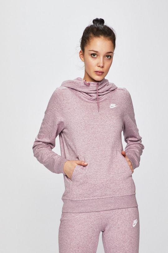 fialovo-růžová Nike - Mikina Dámský