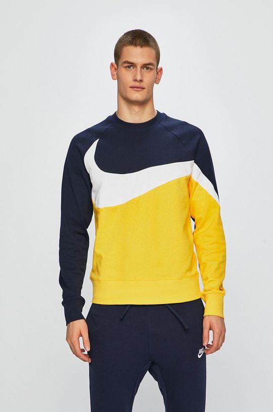 žlutá Nike - Mikina Pánský