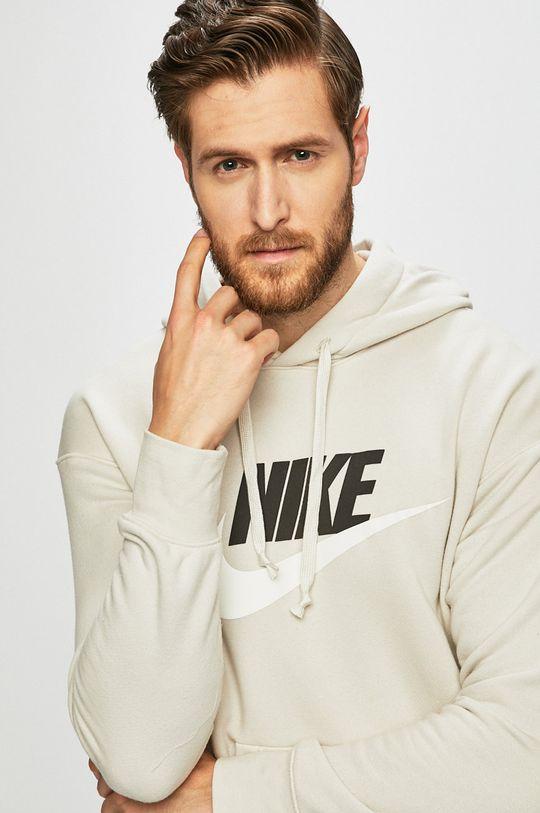 světle šedá Nike - Mikina Pánský