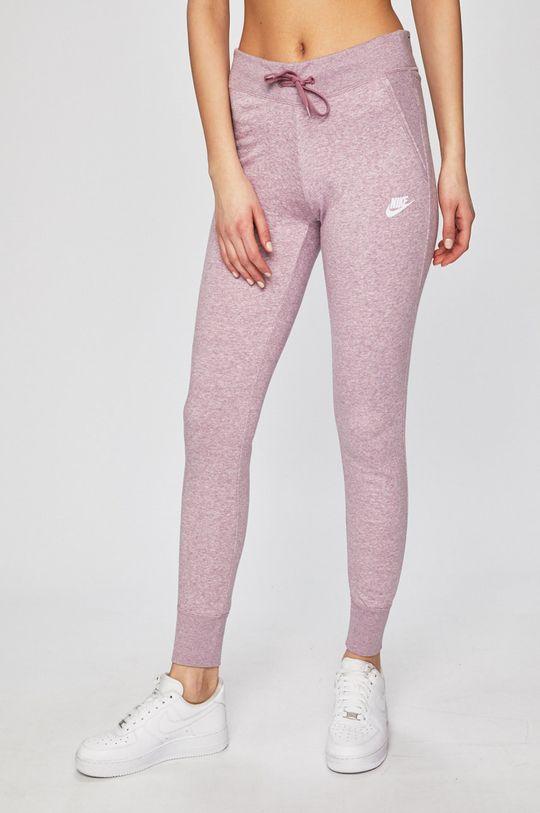 fialovo-růžová Nike - Legíny Dámský