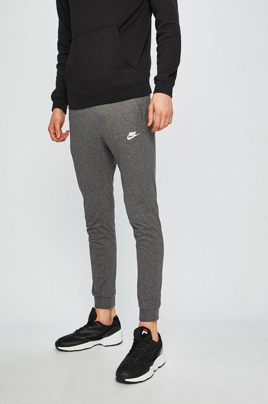 šedá Nike - Kalhoty Pánský
