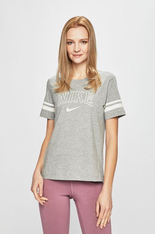 šedá Nike - Top Dámský