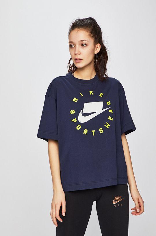 námořnická modř Nike - Top Dámský